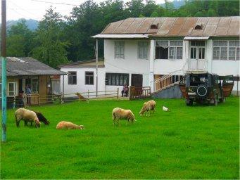 Горное село Анухва